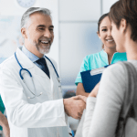 Doctor Patient Greeting Long Island Office